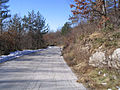 Planina Ćićarija, Istra, Hrvatska - cesta Mune-Vodice (003).jpg