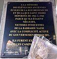 Plaque école Shoah - Rue Saint-Merri.JPG