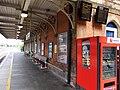 Platform 2, Hereford railway station - DSCF1892.JPG