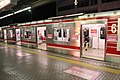 Platform for women only at Namba Station in 2017 - 2.JPG