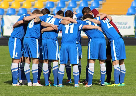 Players of FC Desna Chernihiv 2014-05-22