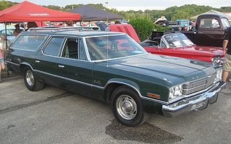 Plymouth Gran Fury - 1975 Gran Fury Custom Suburban station wagon
