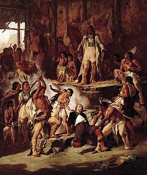Victor Nehlig - Pocahontas Saving John Smith (1870)