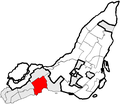 Pointe-Claire Quebec location diagram.PNG