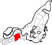 Pointe-Claire Quebec location diagram.PNG