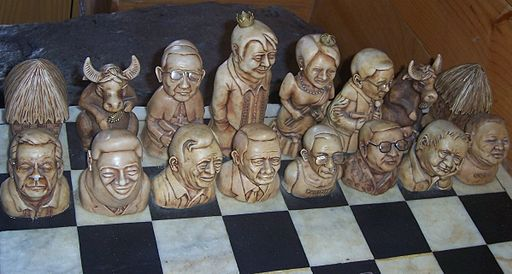Political Chess set