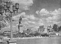 Pomnik Feliksa Dzierżyńskiego plac Bankowy w Warszawie przed 1953.jpg