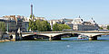Pont du Carrousel and Orsay Museum, Paris June 2014.jpg