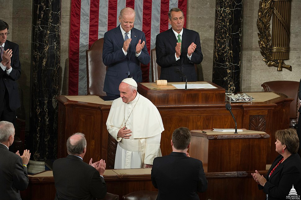 Pope Francis Visits the United States Capitol (22153720701)