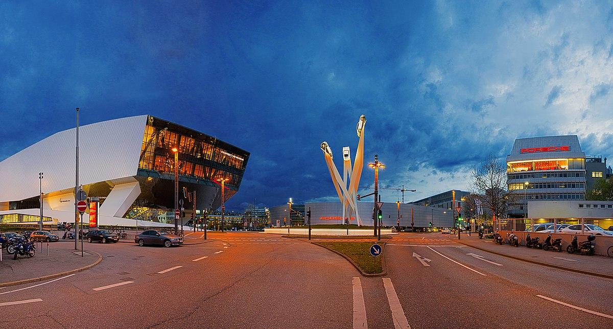 Mercedes Benz Museum >> Porsche-Museum – Wikipedia