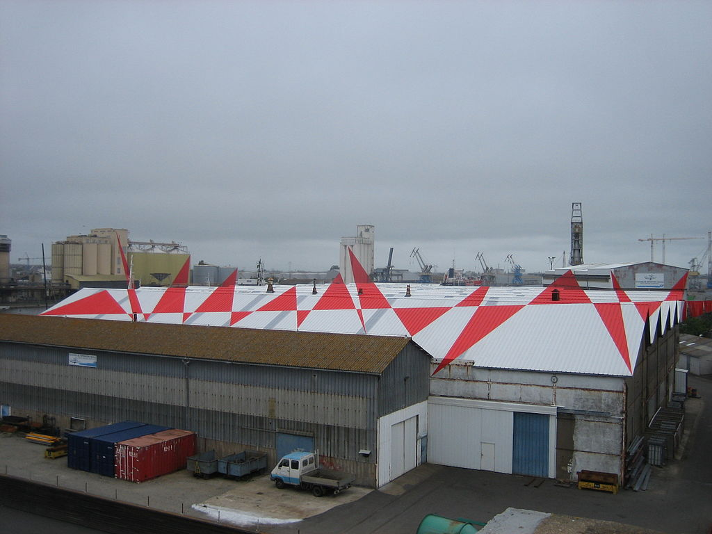 Port de St-Nazaire Felice Varini