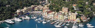 Panorama von Portofino