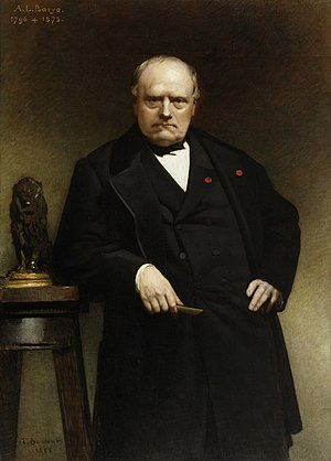Antoine-Louis Barye - Portrait by Léon Bonnat