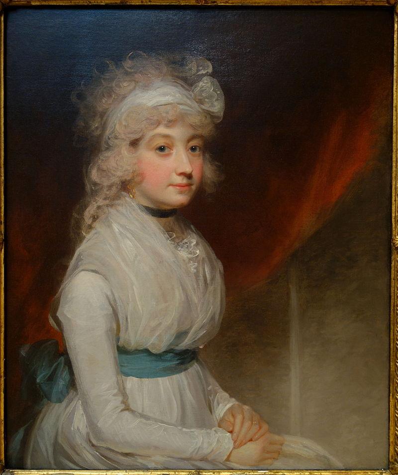 Портрет Мисс тир кисти Джона Хоппнера, 1790, холст, масло-Chazen Museum of Art-DSC02186.JPG