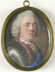 Portret van de Stadhouder Willem IV (1711-51), prins van Oranje Nassau