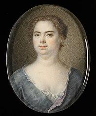 Portret van zijn vrouw Esther Winter