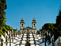 Portugalia Braga sanktuarium kosciol jezusa na wzgorzu 02.jpg