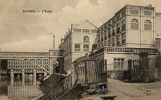 Menier Chocolate - Menier factory in Noisiel, 1911