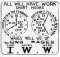 Poster promoting the iww campaign for the eight hour work day 1912.png