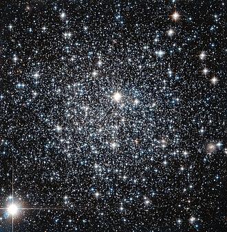 Apus - Globular cluster IC 4499 taken by Hubble Space Telescope.