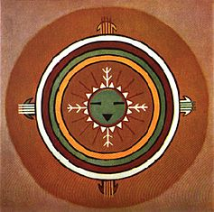 Hopi nation sand painting - Native American Medicine and Health