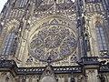 Prag Dom St. Vitus Rosette.JPG