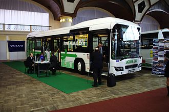 Volvo Buses - Hybrid Volvo 7700H bus at the Czech Bus Fair 2011