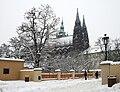 Praha Hrad sníh 2010 10.jpg