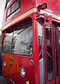 Preserved London Transport Routemaster prototype FRM1 (KGY 4D), LT Museum Acton depot open day, 11 March 2012.jpg