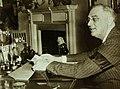 President Franklin Roosevelt as he delivered his world-wide April 28th, 1942, address (23603093311).jpg