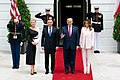 President Trump and the First Lady Visit with the President of Poland and Mrs. Duda (48055525002).jpg
