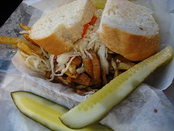 A sandwich from Primanti Bros resturant, in Pi...