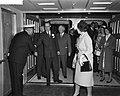 Prinses Beatrix vertrekt per Rotterdam naar Amerika, Bestanddeelnr 910-6424.jpg
