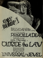 Priscilla Dean in Outside the Law by Tod Browning 1 Film Daily 1920.png