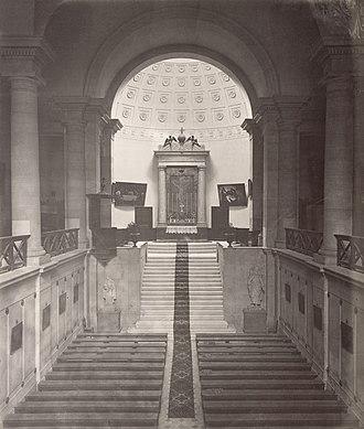 Prison religion - The chapel of the Saint-Pélagie Prison, Paris