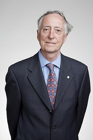 Graham Bell (biologist) - Graham Bell at the Royal Society admissions day in London, July 2016