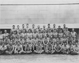 Project Alberta - Group photograph of Project Alberta on Tinian