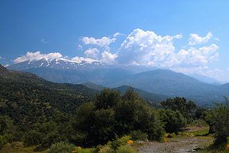 Crete - View of Psiloritis