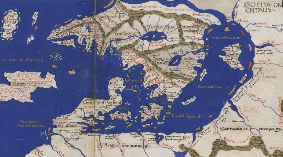 Ptolemaios 1467 Scandinavia