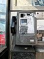 Public telephone during Covid-19 pandemic, High Road, Tottenham London England 3.jpg