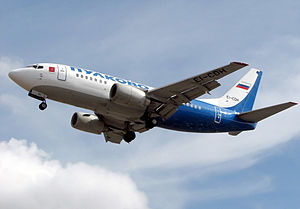 Pulkovo Aviation Enterprise - Pulkovo Boeing 737-500