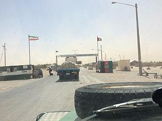 Islam Qala - Arriving at Islam Qala, entering Afghanistan