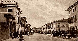Quaderni - Viale Mazzini in 1920s