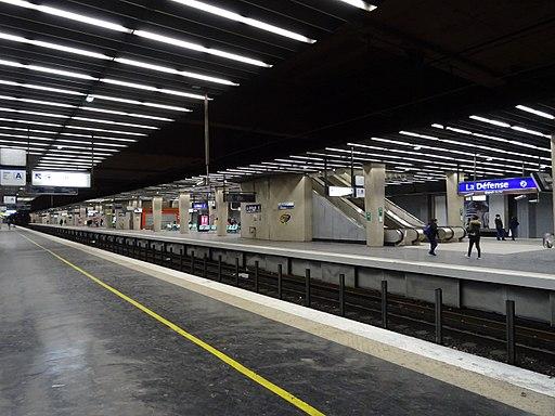 Quai central RER A