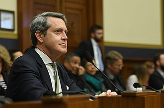 Randal Quarles - Quarles testifies in 2018 before the House Committee on Financial Services as Vice Chairman for Supervision