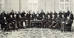 Delegates at the Quebec Conference, October 1864.