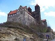 Монастырские постройки на горе «Шлоссберг»