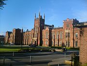 Queen's University of Belfast, Lanyon building, May 2006