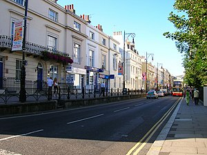 Brighton - Queens Road, one of the oldest streets in Brighton