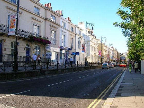 Queens Road, one of the oldest streets in Brighton Queens Road - geograph.org.uk - 212549.jpg